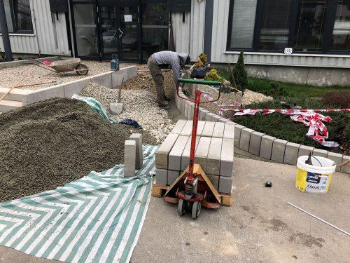 Rekonštrukcia schody a rampa