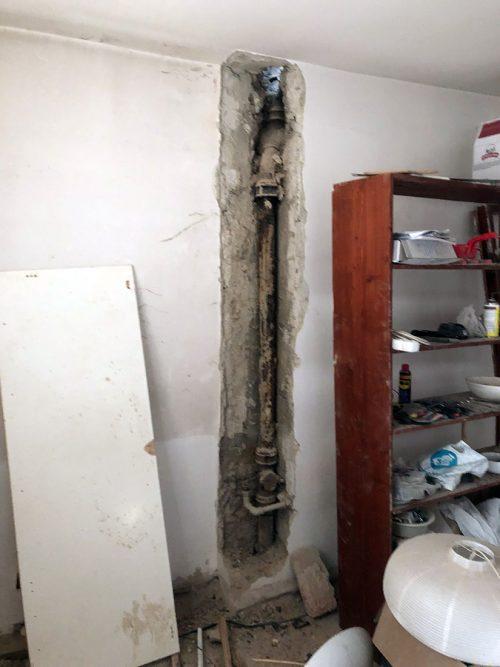 Výmena kanalizačného potrubia