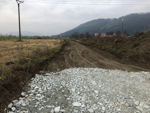 Výstavba cesty
